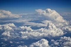 Top view of a clouds Royalty Free Stock Photos