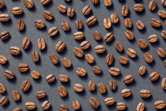 Top view of coffee beans Royalty Free Stock Photography