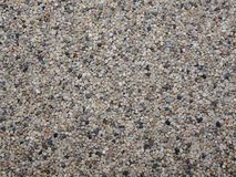 Top view of colorful sea sand surface as a background. Natural decoration for house and gardens. Nature concept. Stock Photos