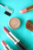 Top view of colourful cosmetic Stock Photos