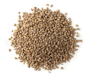 Top view of compound feed pellets Stock Photography