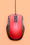 Top view of computer mouse Royalty Free Stock Images