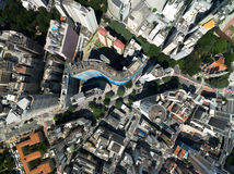 Top View of Copan Building in Sao Paulo, Brazil Stock Image