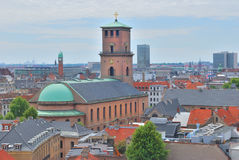 Top-view of Copenhagen Royalty Free Stock Image