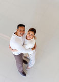 Top view of couple Stock Image