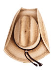 Top view of a cowboy hat Stock Image