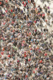 Top view of the crowd Royalty Free Stock Image