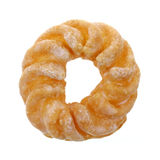Top view cruller Royalty Free Stock Photo