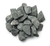 Top view of crushed granite royalty free stock images