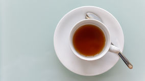 Top view of a cup royalty free stock image
