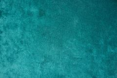 Top view of green velour fabric royalty free stock photo