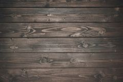 Dark wooden planks. Top view of dark wooden planks Royalty Free Stock Photos