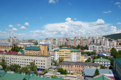 Top view of downtown of Chita city Stock Photography
