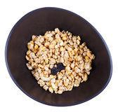 Top view of dried muesli Royalty Free Stock Photos