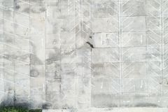 Top view drone shot of empty outdoor parking lot. royalty free stock photography