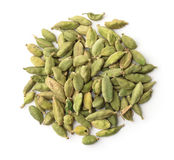 Top view of dry cardamom pods Stock Images