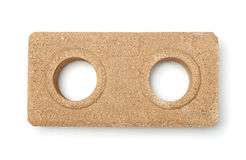 Top view of dry pressed brick Stock Photography