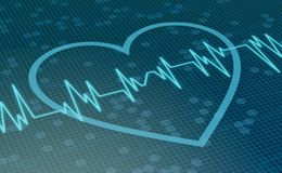 Concept of heart health Royalty Free Stock Photography