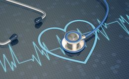Concept of heart health Royalty Free Stock Photo