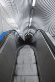 Top view of an escalator Stock Photos