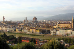 Top view of Florence. Stock Image
