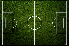 Top view football field background Royalty Free Stock Image