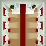 Top View Foyer Interior Royalty Free Stock Images