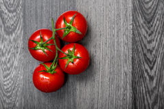Top view of fresh tomatoes Royalty Free Stock Photo