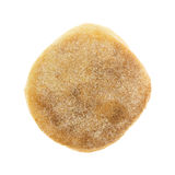 Top view of a freshly baked English muffin Royalty Free Stock Photos