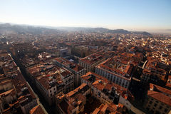 Top view fromo Duomo cathedral in Florence, Italy Royalty Free Stock Photography