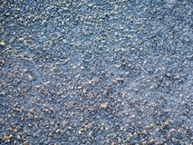 Top view of gravels on a street Stock Photography