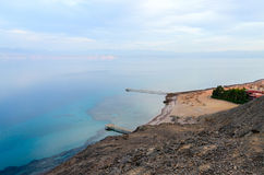 Top view of the Gulf of Aqaba Royalty Free Stock Images
