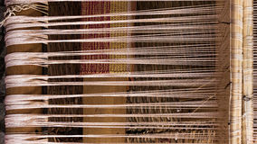 Top view of the hand loom Stock Photography
