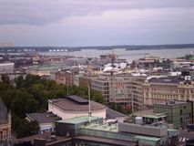 Top View of Helsinki Royalty Free Stock Photo