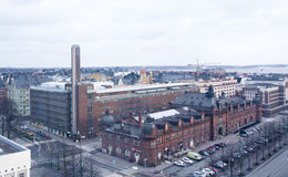 Top view of Helsinki Stock Photography