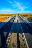 Top view of the highway Royalty Free Stock Photography