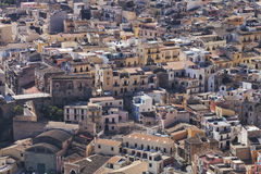 Top view of historic Italian city Royalty Free Stock Image