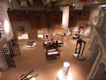 Top view of hong kong museum. Hong Kong Heritage Museum in TST stock photography