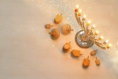 Free Top View Image Of Jewish Holiday Hanukkah Royalty Free Stock Images - 80079149