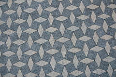 Top view of interlocking concrete paver surface. Street pavement texture Stock Image