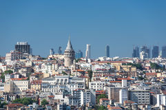 Top view of Istanbul Stock Images