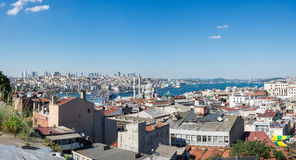 Top view of Istanbul Royalty Free Stock Images