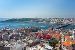 Top view of Istanbul Stock Photo