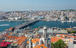 Top view of Istanbul Royalty Free Stock Photography