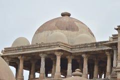 Top view of Jami Masjid (mosque) at chapaner, Gujarat Royalty Free Stock Image