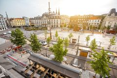 Clermont-Ferrand city in France Stock Images