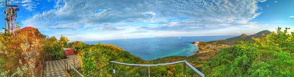 Top view in kohlarn thailand 02/may/2019 royalty free stock photo