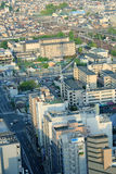 Top view of Kyoto Japan Stock Photography
