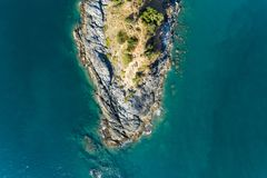 Top view landscape of Beautiful tropical sea with Sea coast view in summer season image by Aerial view drone shot, high angle view.  stock photos