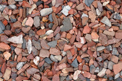 Top view of large gravel stones texture Stock Photos